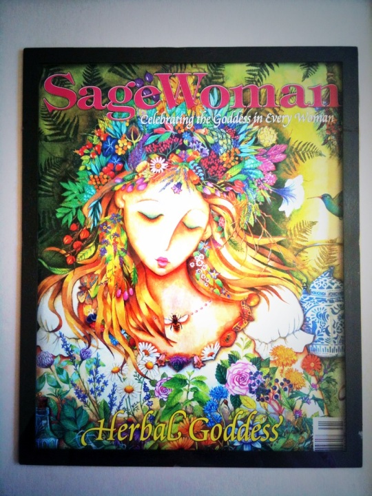 The Cover of Sage Woman Magazinr