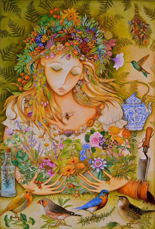 """The Herbal Goddess"" by Holly Sierra"