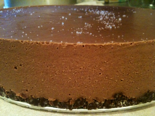 Raw Vegan Orange Chocolate Torte