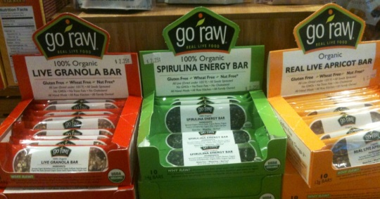 Raw Food Snacks at SFO