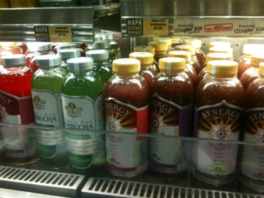 Kombucha at SFO