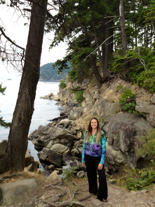 Shana in Larrabee State Park